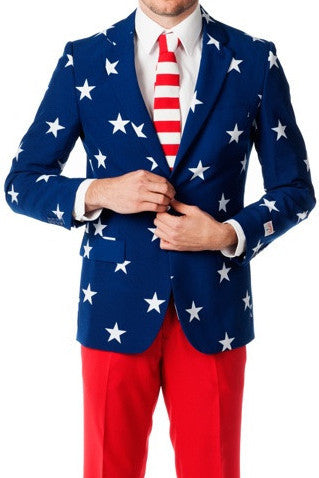 Suit Stars & Stripes - OppoSuits - 1