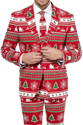 Suit Winter Wonderland - OppoSuits - 1