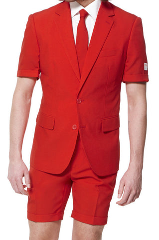 Summer Suit Red Devil | Summer - OppoSuits - 1