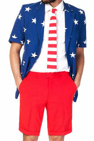 Summer Suit Stars and Stripes | Summer - OppoSuits - 1