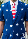 Summer Suit Stars and Stripes | Summer - OppoSuits - 3