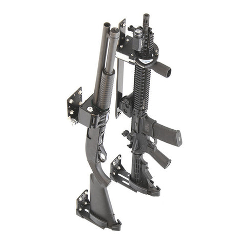 Santa Cruz Gunlocks-SC-917-D-1-5-A Fixed Pump Shotgun & SC-5 Rapid-Adjust Gun Rack