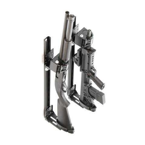 Santa Cruz Gunlocks-SC-920-D-1-B Universal Rail Pump Shotgun & Barrel Gun Rack