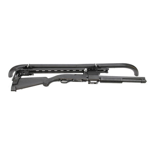 Santa Cruz Gunlocks-SC-929-1 Universal Rail Overhead Pump Shotgun Rack