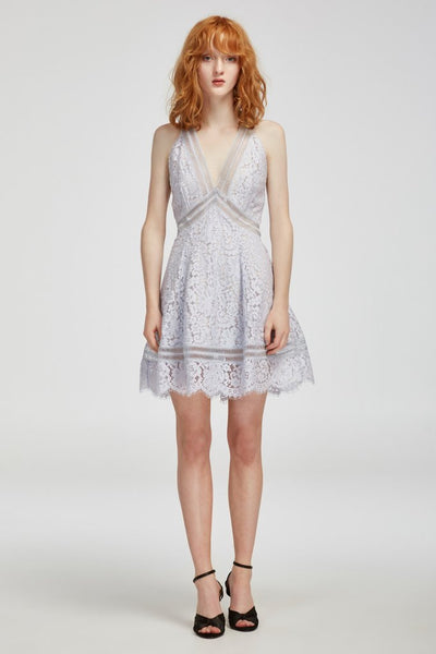 OBLIVION LACE DRESS / PALE BLUE