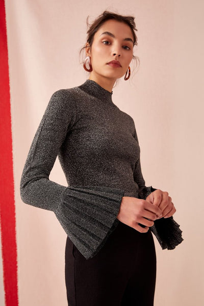 MOVE OVER KNIT silver lurex