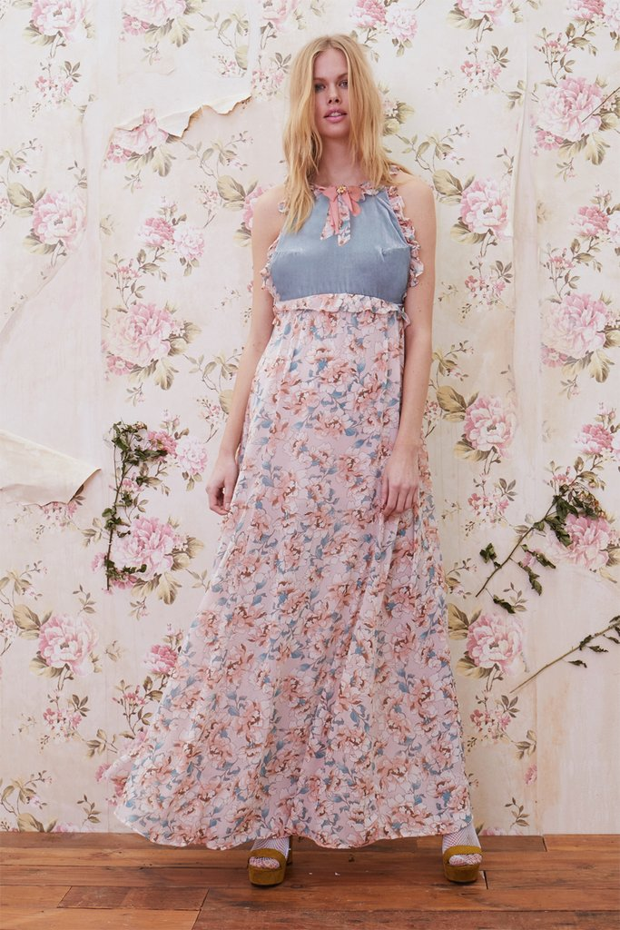 BLOSSOM TANK MAXI DRESS