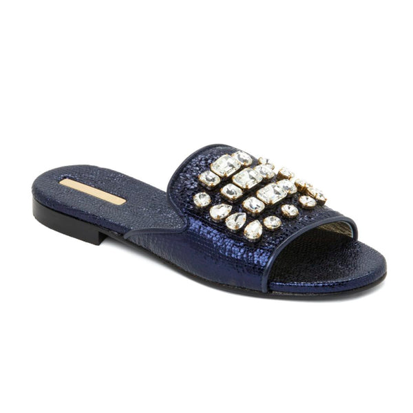 DIAMANTE BLUE MARINA SANDALS | NEW DESIGNER