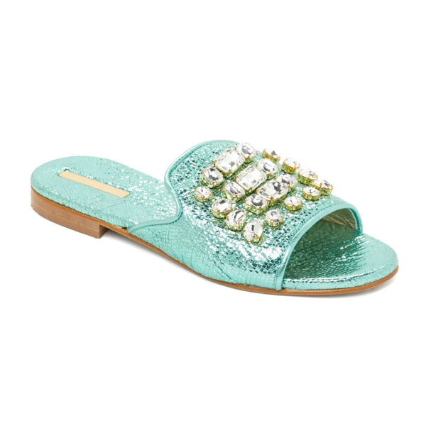 DIAMANTE ACQUA MARINA SANDALS | NEW DESIGNER