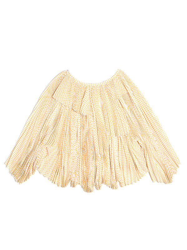 BACK TIE PLEATS BLOUSE | NEW DESIGNER SS20