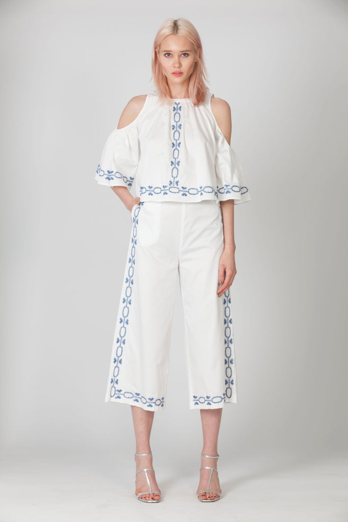 SPELLGIRL EMBROIDERY CULOTTES