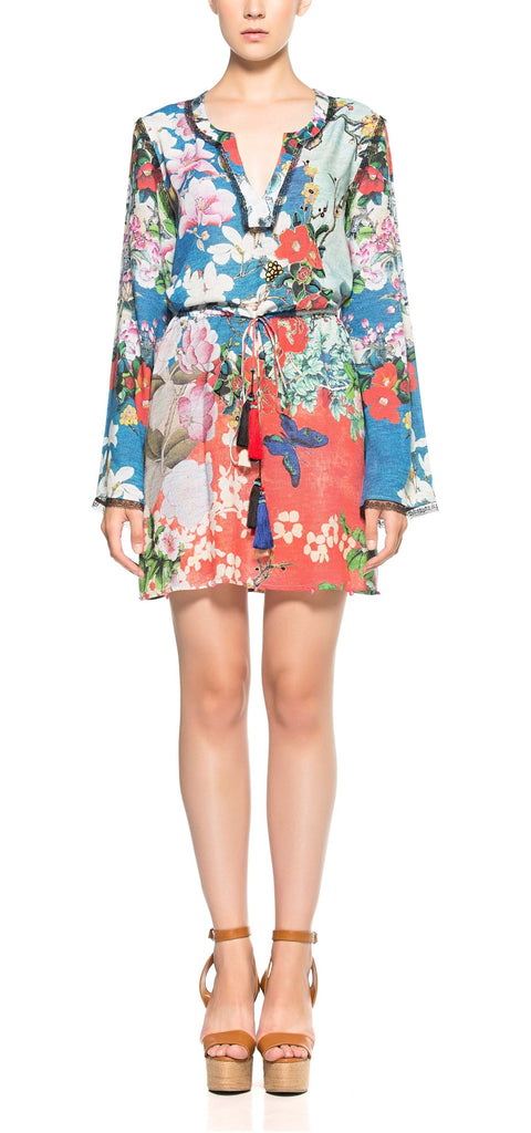 EFFLORESCENCE MINI DRESS