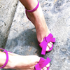 CHARLIZE SANDALS SD30 FUCHSIA SUEDE  | NEW ARRIVALS