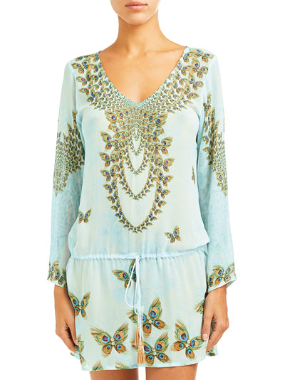 Peacock Butterfly Tunic | NEW IN