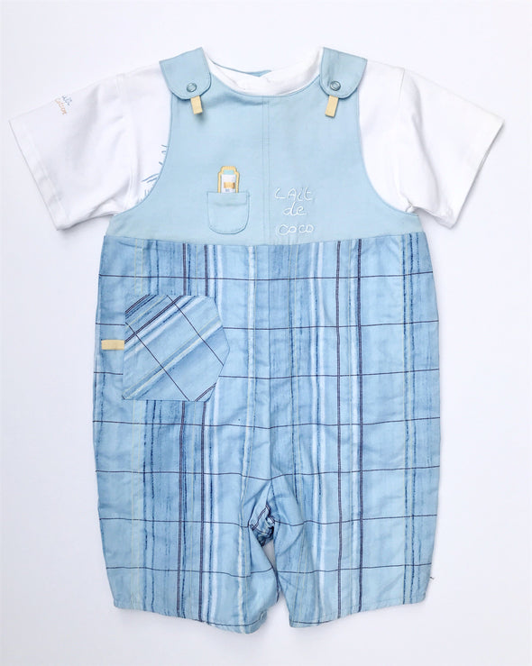marese of France infant boys 2Pc short sleeve romper