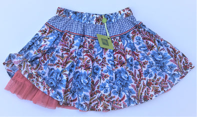 Oilily Girls Full Twirly Floral Skirt