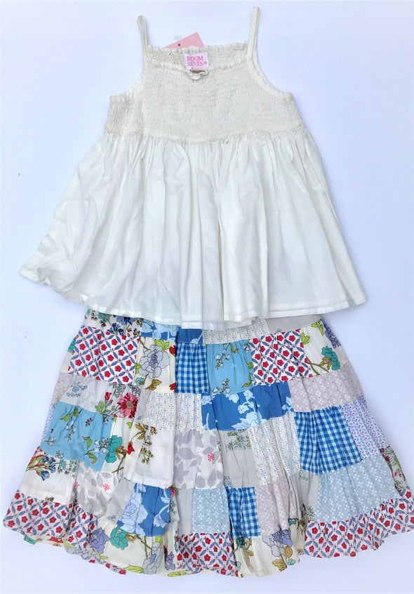 ROOM SEVEN Girls 2Pc Spring/Summer Skirt Set