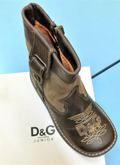 D & G Junior  Dolce & Gabbana Kids Low Boots