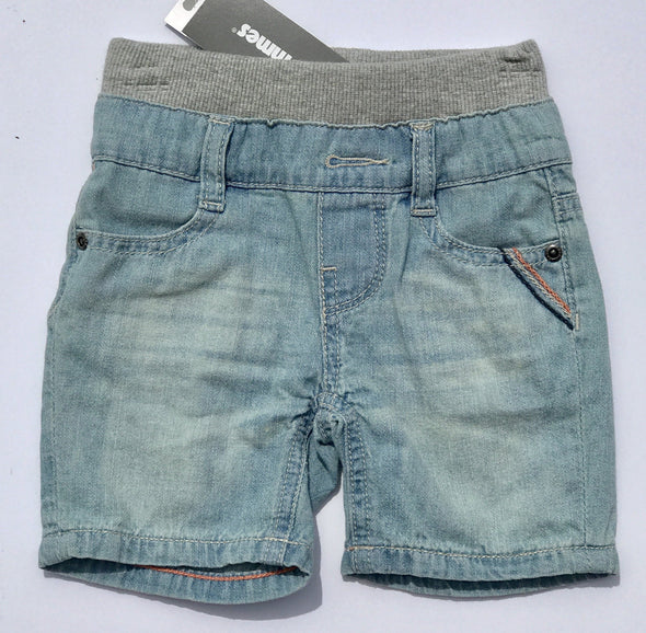 3pommes Infant Boys Light Weight Denim Shorts