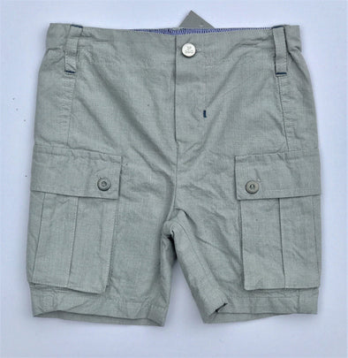 3pommes Infant Boy Gray Dress Shorts