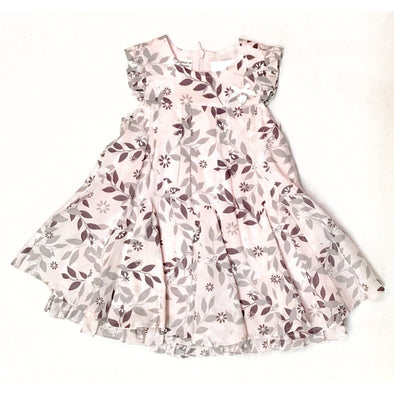 Le Chic Infant Tiered Floral Dress