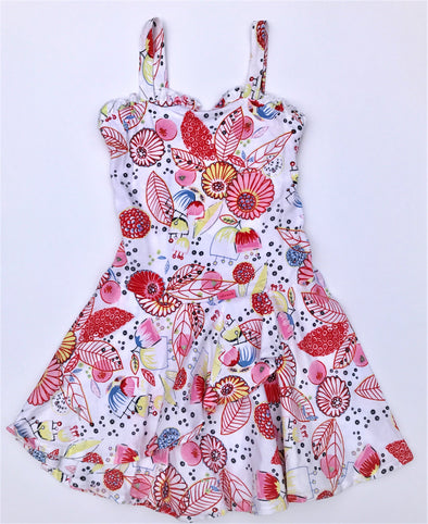 Cakewalk Layered Floral Sun Dress