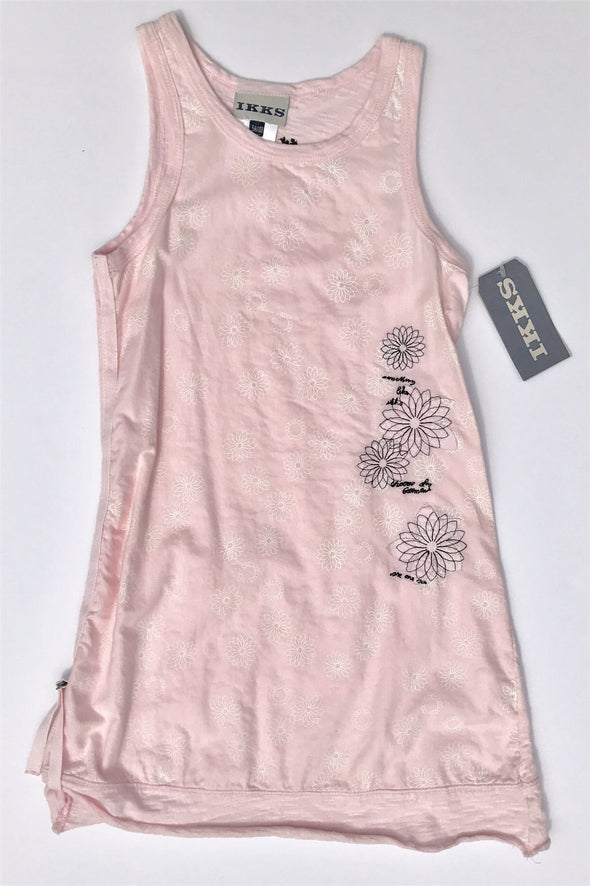 IKKS of France Girl Pale Pink Tank Dress