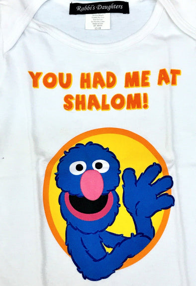Rabbis Daughters Short Sleeve Tee With Grover Print