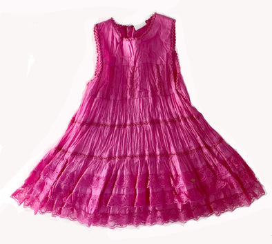 3Pommes Fuchsia Spring/Summer Dress