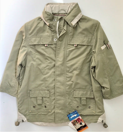 MAYORAL OF SPAIN BOYS SPRING JACKET WITH HIDDEN HOOD