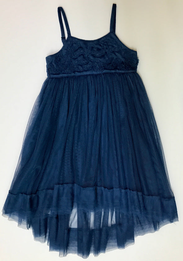 Eliane et Lena Navy Hi Lo Tutu Dress