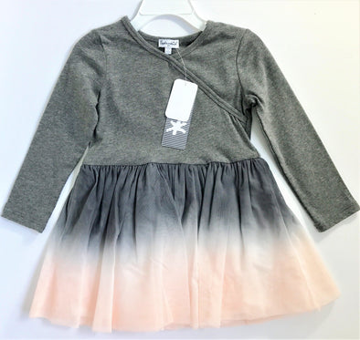 Splendid Pink/Grey Tutu Cotton Lined Dress