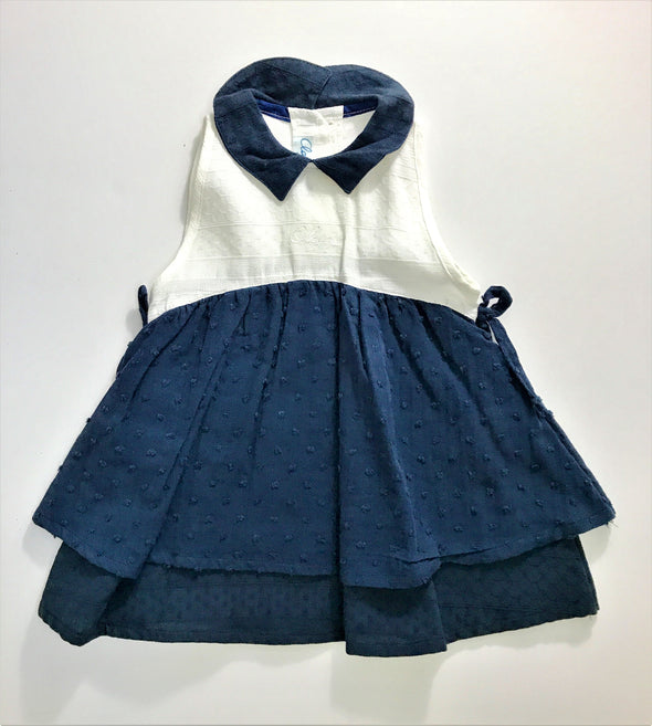 Cleyeux Of France 2Pc Dress With Cardigan