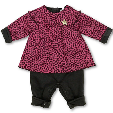 3Pommes 1Pc Infant Girl Romper
