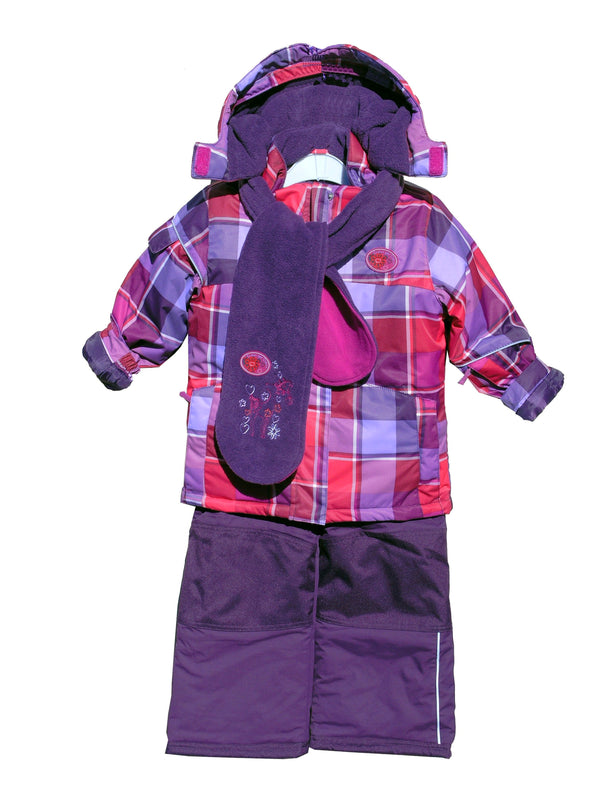 Deux Par Deux  Toddler  Girls 4pc Snow Suit
