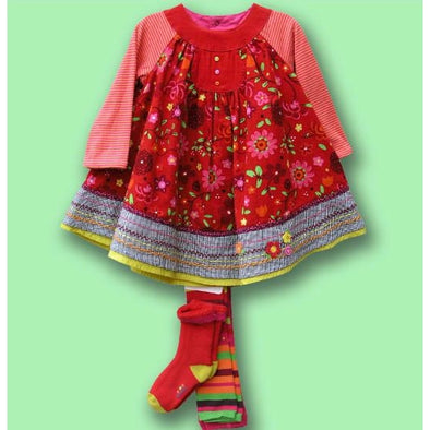 Catimini 12M Fall/Winter 2pc Dress with Footless Tights and Socks