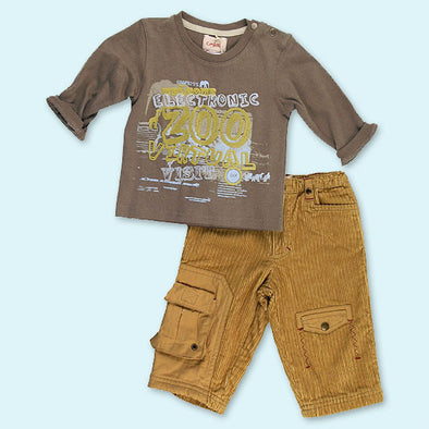 Confetti of France Fall/Winter Infant Boys 2Pc Pant Set
