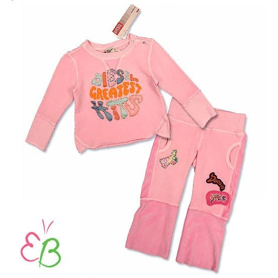 DIESEL Infant Girls 2Pc Sweatsuit
