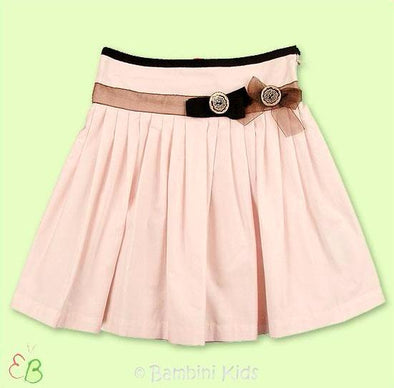 Floriane of France Pale Peach Girls Dressy Long Skirt