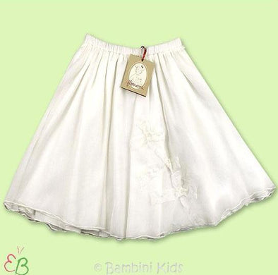 Floriane of France Girls Silk Dressy Long Skirt