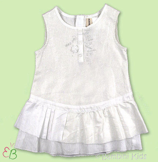 IKKS Infant Girls White Dress