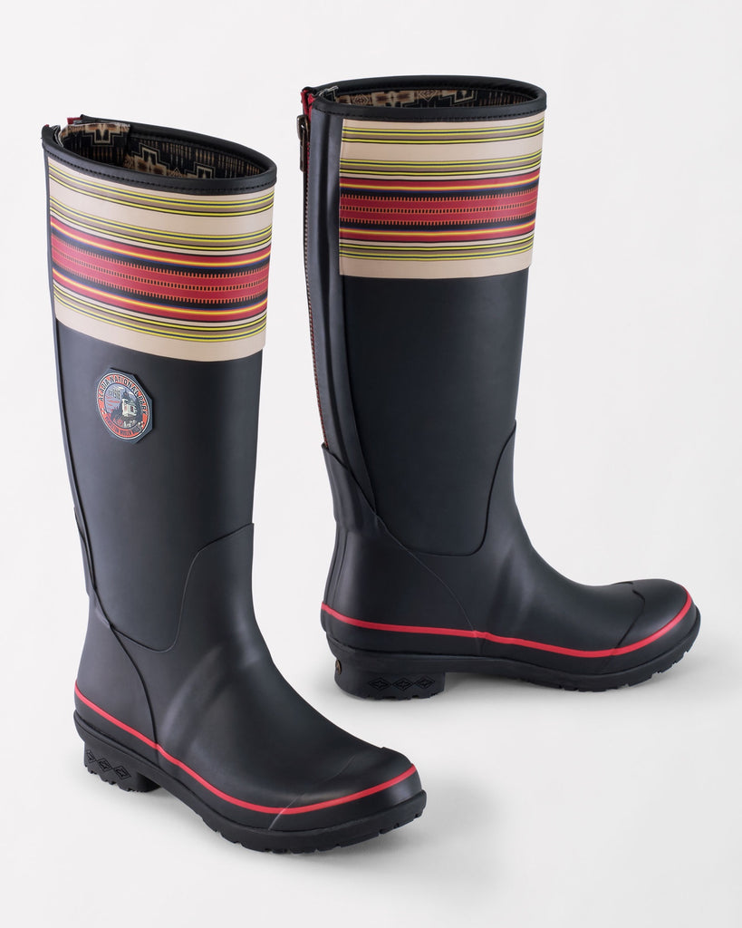 Pendleton National Park Tall Rain Boot in Acadia Black
