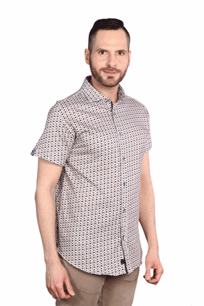 7 Downie Men's 7032 Short Sleeve Jersey Shirt - Saratoga Saddlery & International Boutiques