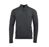 Alps & Meters Alpine Guide Men's Sweater Charcoal - Saratoga Saddlery & International Boutiques