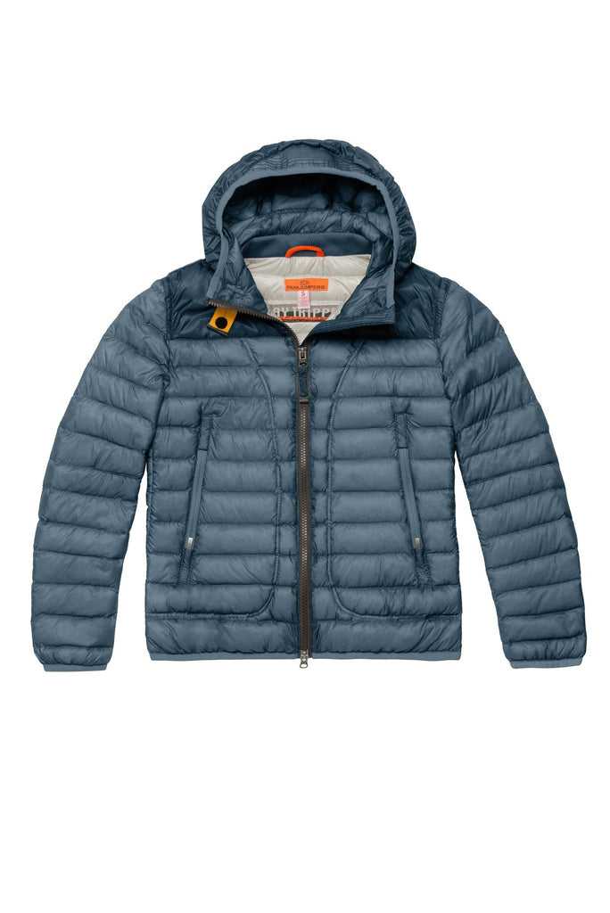 ... Parajumpers Kids Rose Down Jacket in Deep Sky ...