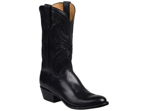 Ariat Men's Heritage Roughstock Buckboard Black/Burnt Clay