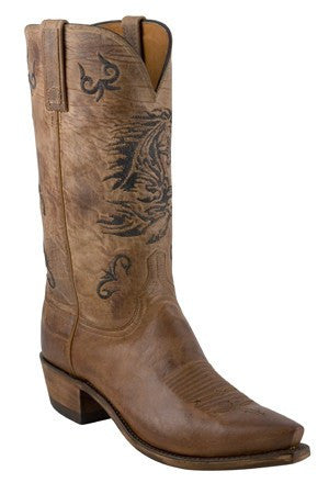 Lucchese Tanner Roper GY3512 in Chocolate