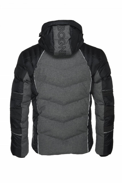 Bogner Bruce D Mens Jacket Black 40% OFF ON SALE! - Saratoga Saddlery & International Boutiques