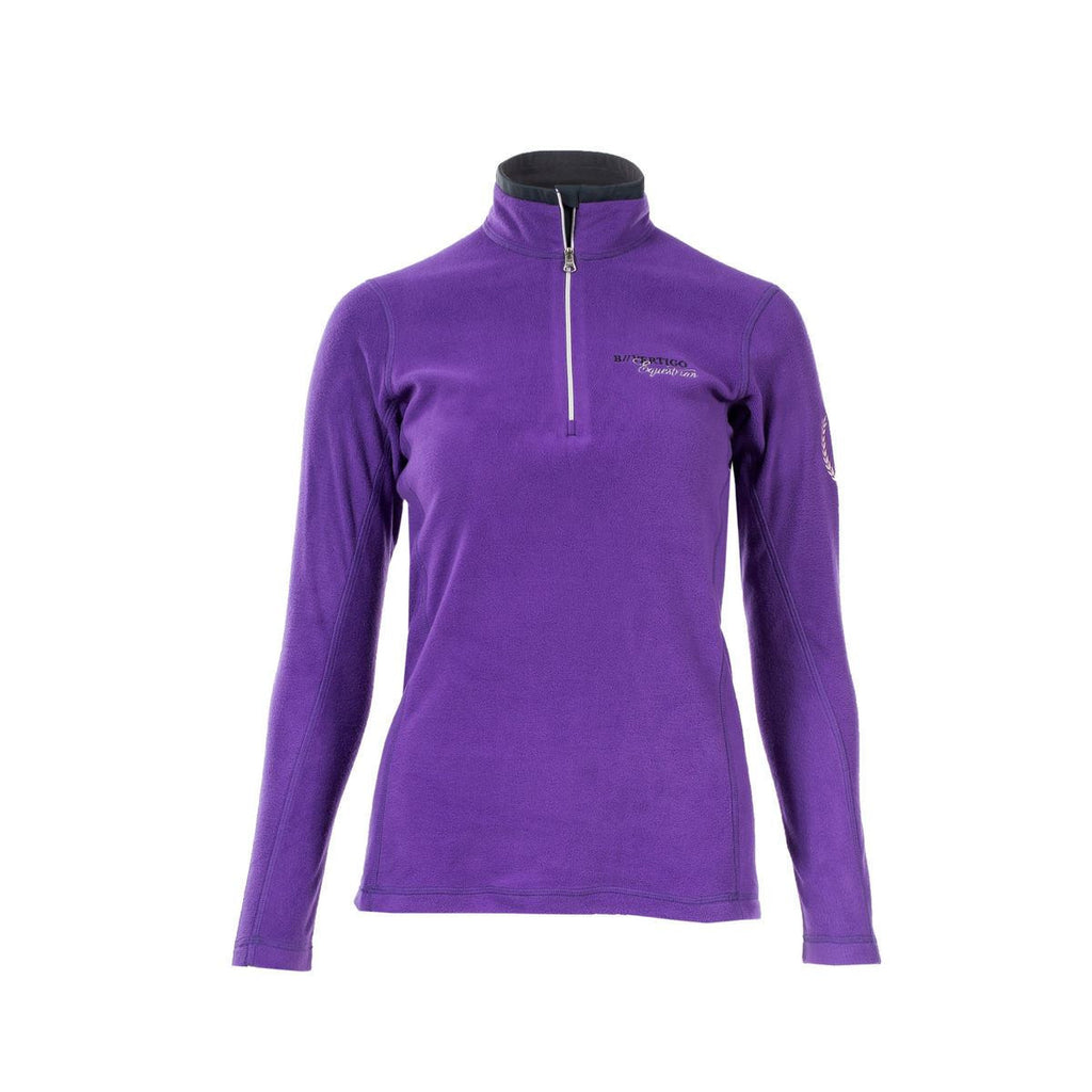 B Vertigo Phillippa Women's Fleece Sweater in Purple
