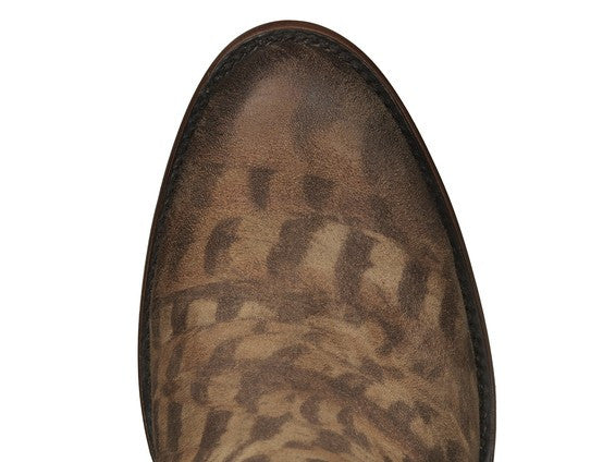 Lucchese Women's Robyn Western Shortie Boot M6002 - Tan - Saratoga Saddlery & International Boutiques